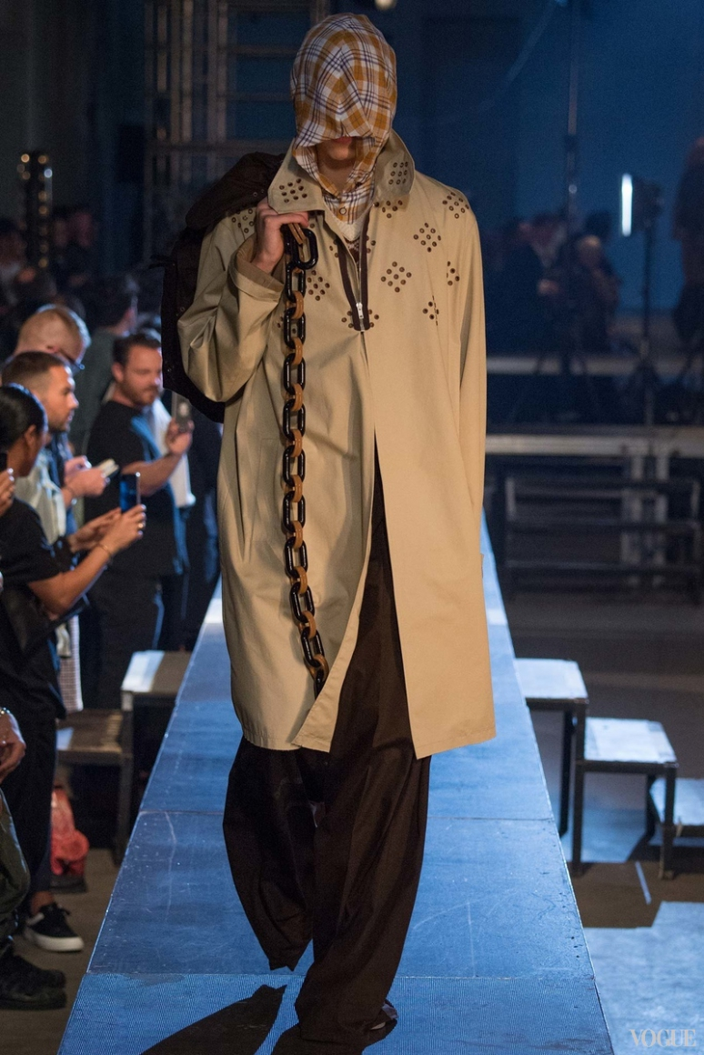 Raf Simons Menswear весна-лето 2016 #8