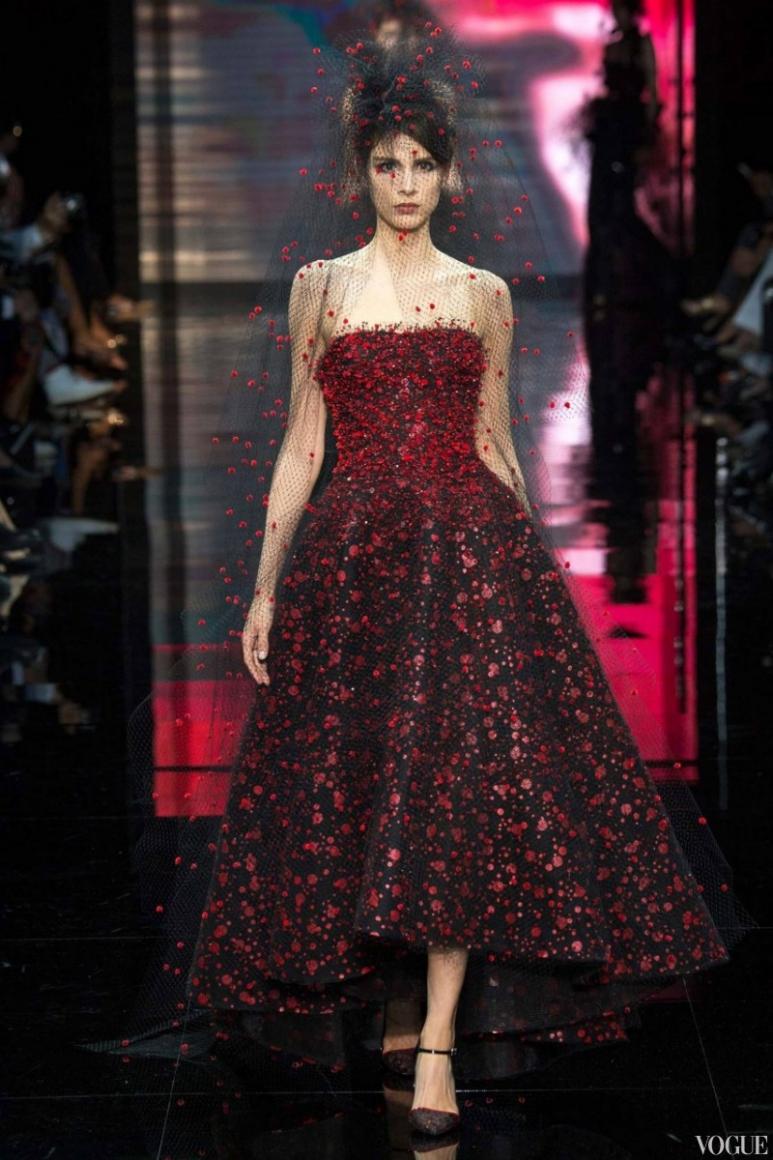 Armani Priv? Couture осень-зима 2014/2015 #11