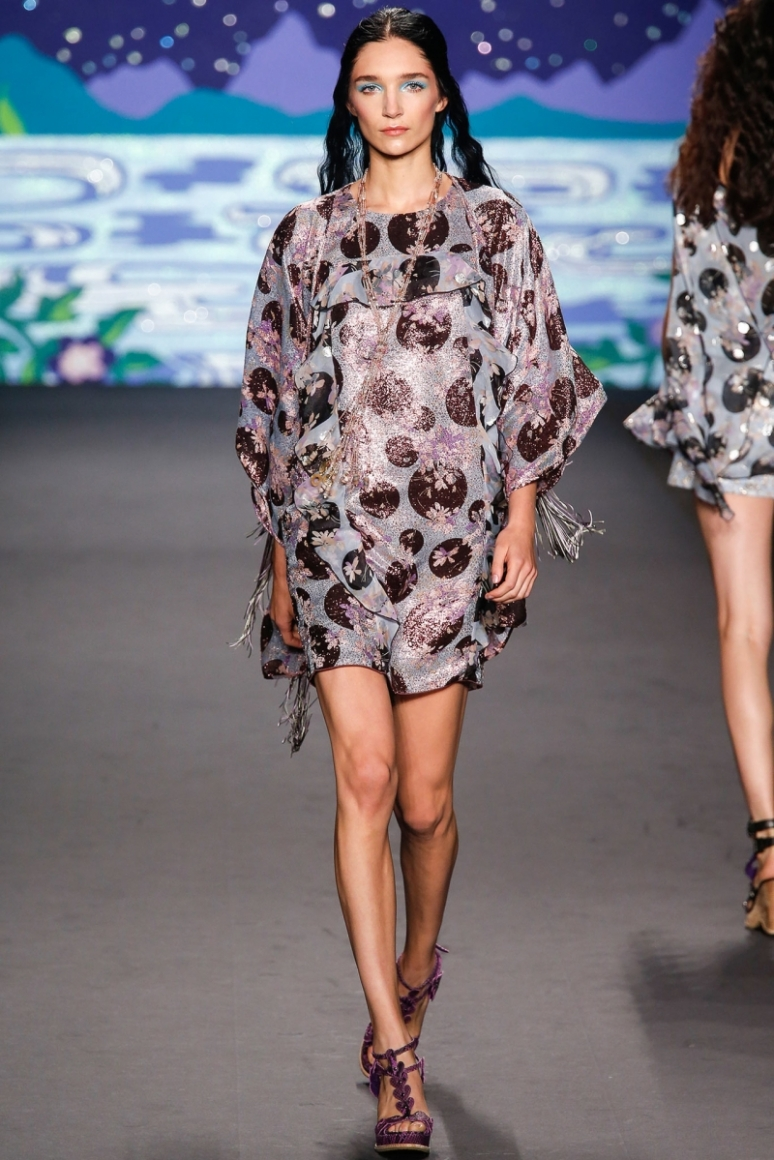 Anna Sui весна-лето 2014 #11