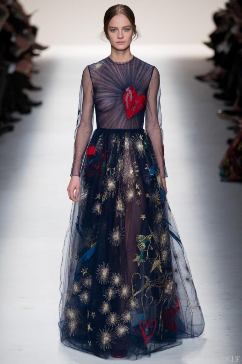 Valentino осень-зима 2014/2015 #1