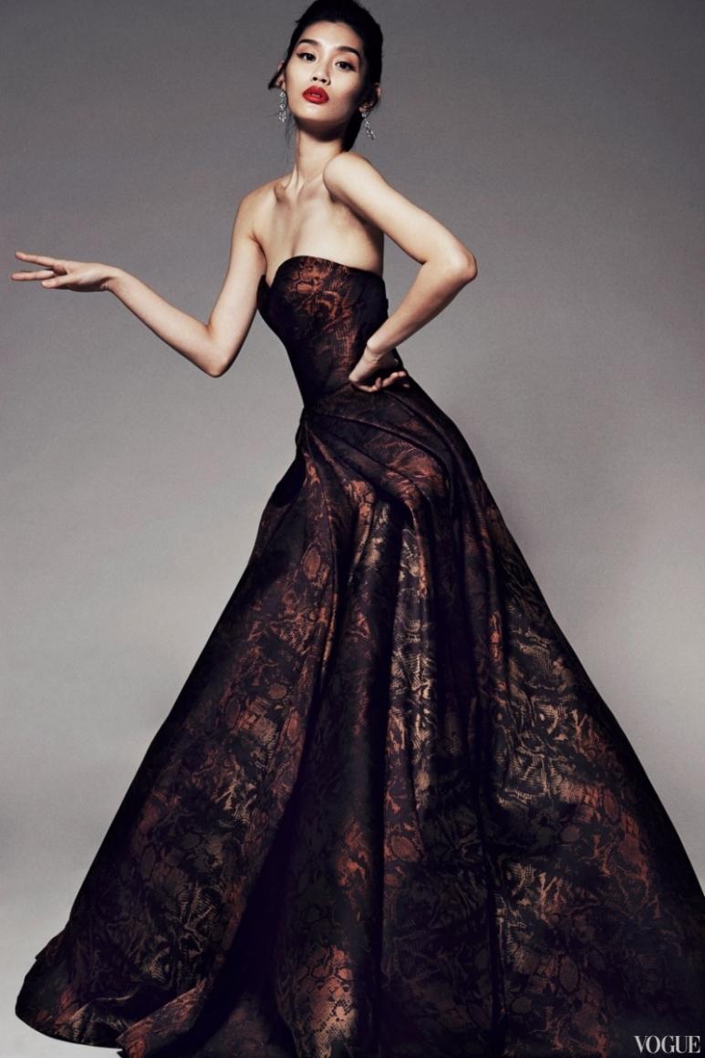 Zac Posen Couture весна-лето 2013 #23