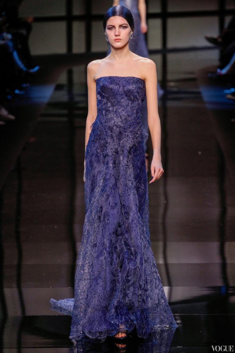 Armani Priv? Couture весна-лето 2014 #24