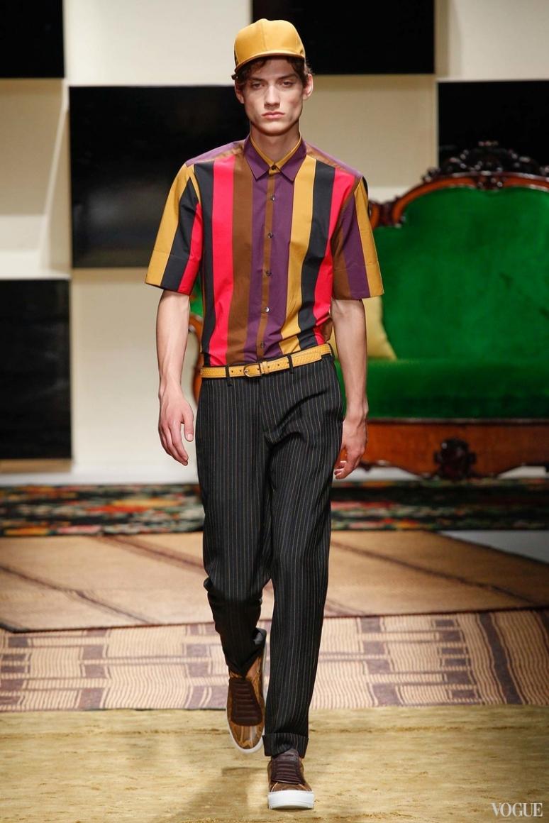 Salvatore Ferragamo Menswear весна-лето 2016 #24