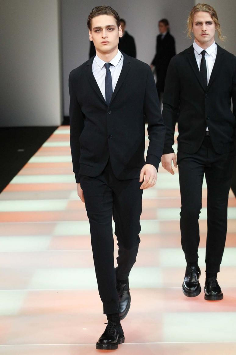 Emporio Armani Menswear осень-зима 2015/2016 #5