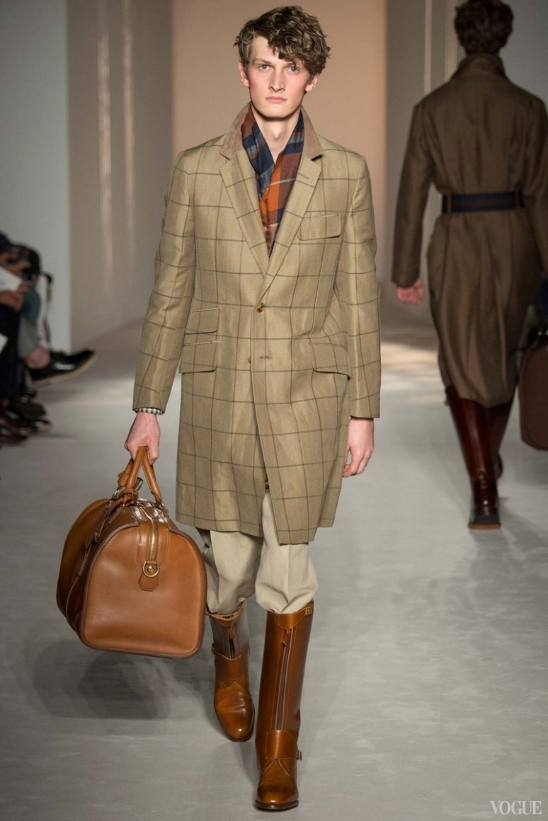 Dunhill Menswear весна-лето 2016 #20