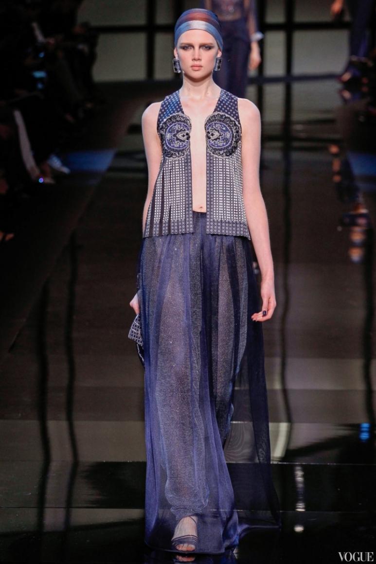 Armani Priv? Couture весна-лето 2014 #34