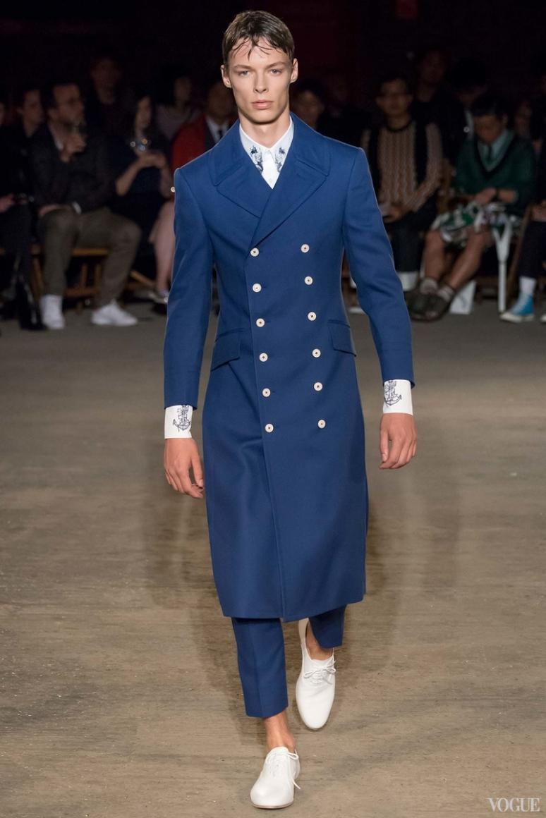 Alexander McQueen Menswear весна-лето 2016 #27