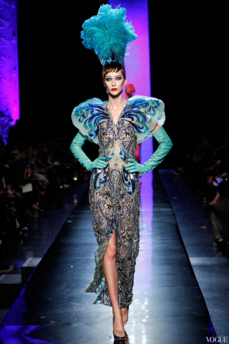 Jean Paul Gaultier Couture весна-лето 2014 #10