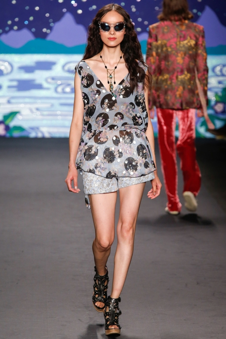 Anna Sui весна-лето 2014 #12