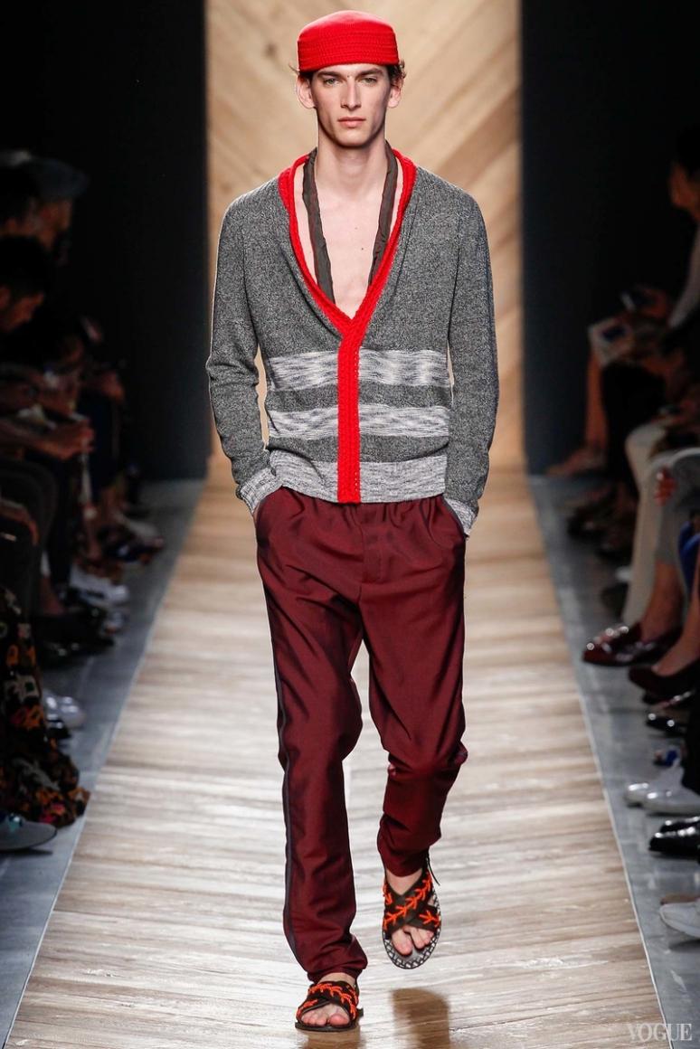 Bottega Veneta Menswear весна-лето 2016 #1
