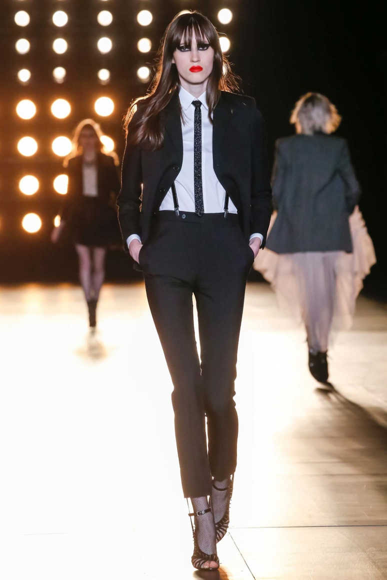 Saint Laurent осень-зима 2015/2016 #59