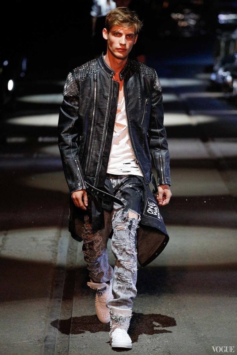 Philipp Plein Menswear весна-лето 2016 #20