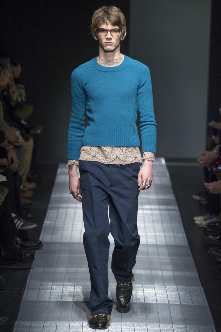 Gucci Menswear осень-зима 2015/2016 #33