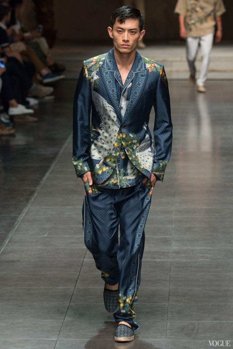 Dolce & Gabbana Menswear весна-лето 2016 #86