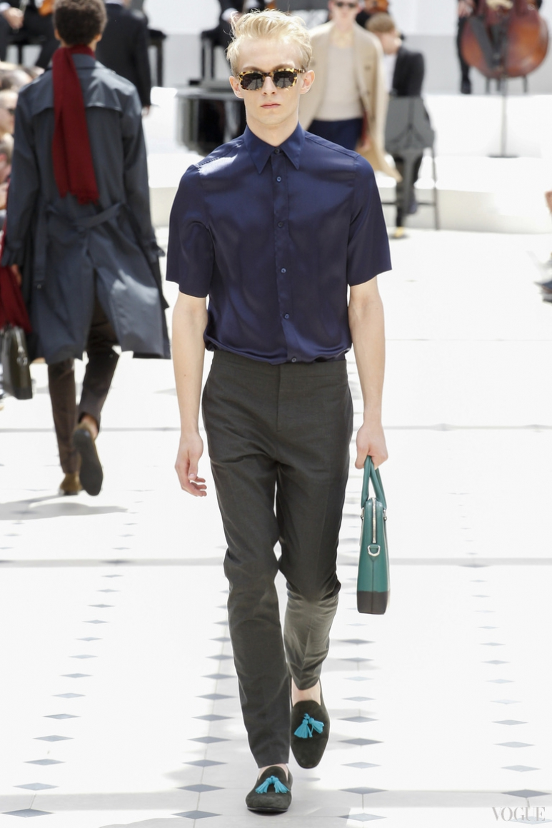 Burberry Prorsum Menswear весна-лето 2016 #37