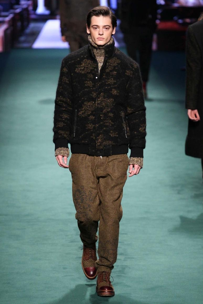 Etro Menswear осень-зима 2015/2016 #30