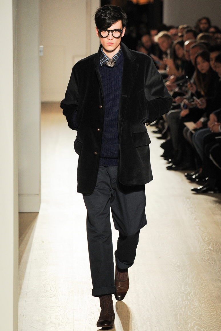 Dunhill Menswear осень-зима 2015/2016 #32