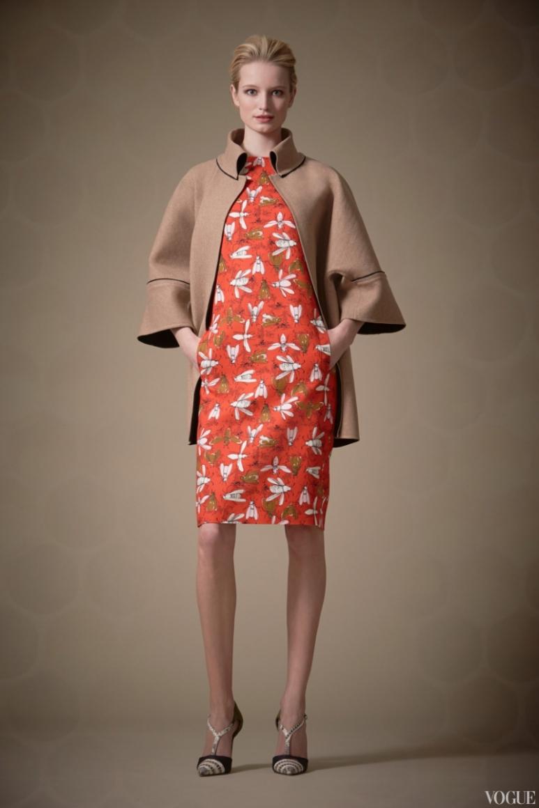 Carolina Herrera Couture весна-лето 2013 #9