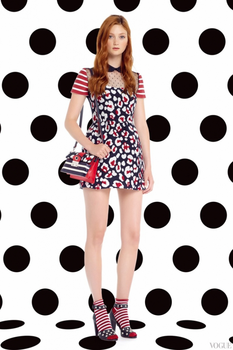 Red Valentino весна-лето 2015 #16