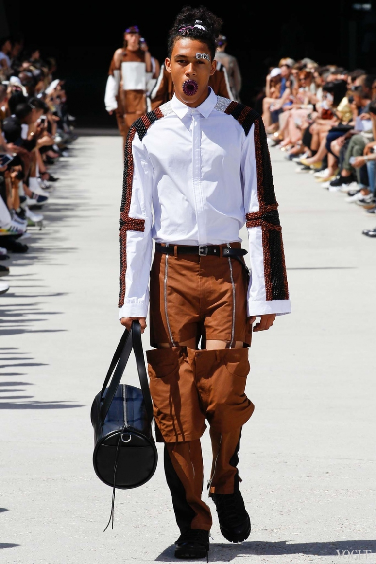 Hood by Air Menswear весна-лето 2016 #11