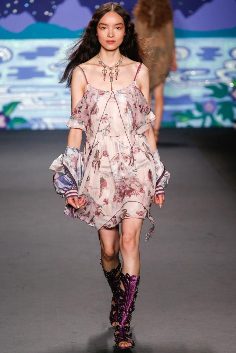 Anna Sui весна-лето 2014 #39