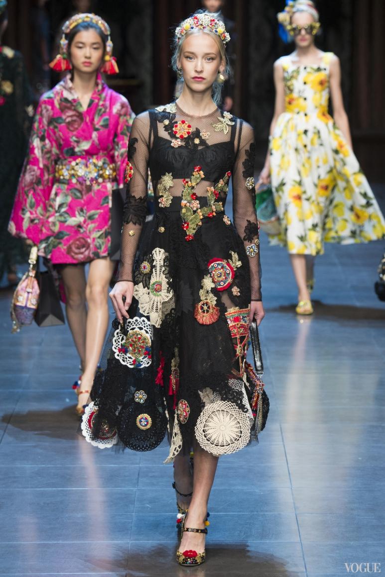 Dolce & Gabbana весна-лето 2016 #79