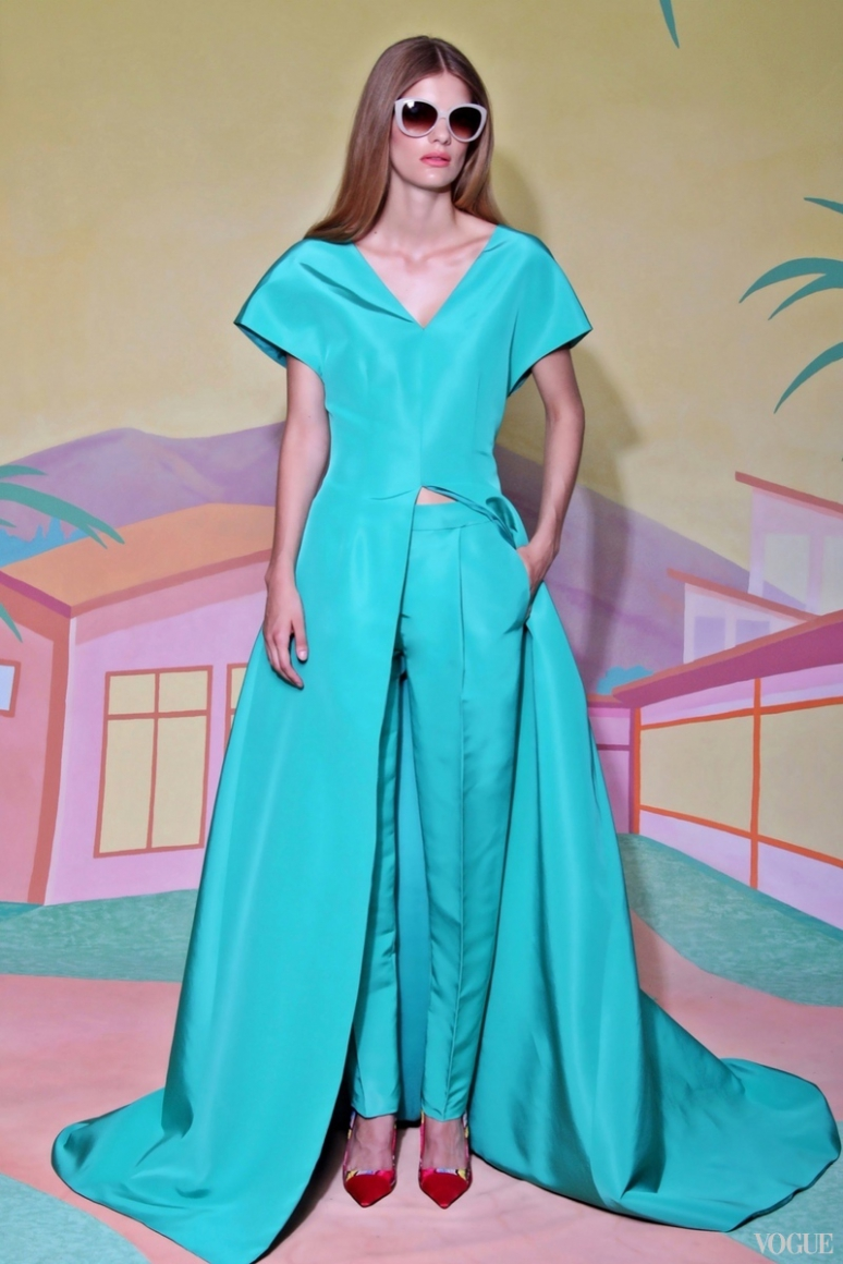 Christian Siriano Resort 2016 #14