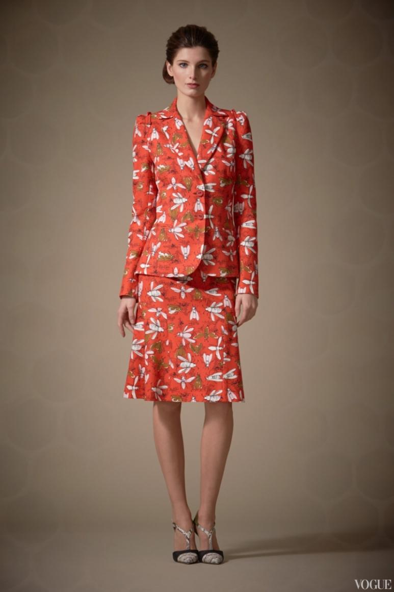 Carolina Herrera Couture весна-лето 2013 #8