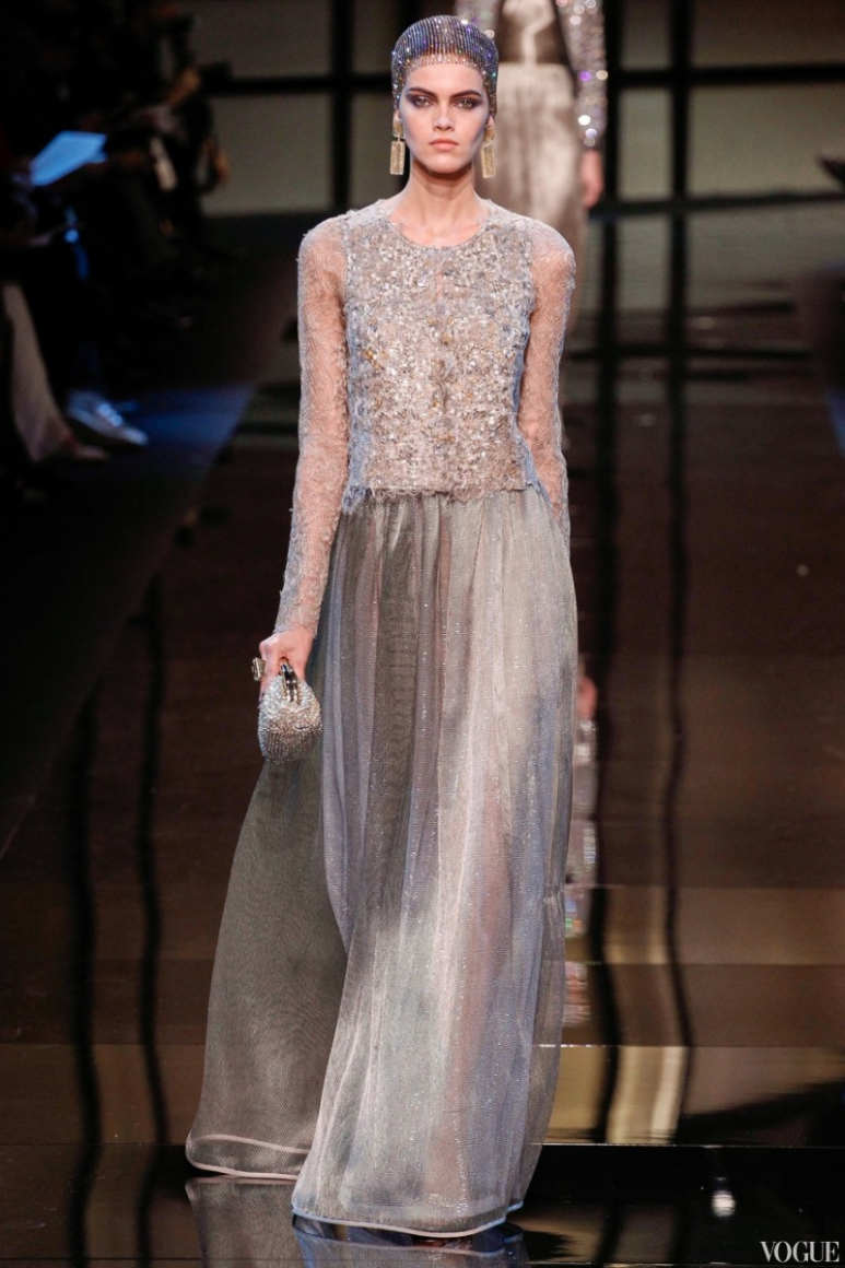 Armani Priv? Couture весна-лето 2014 #9