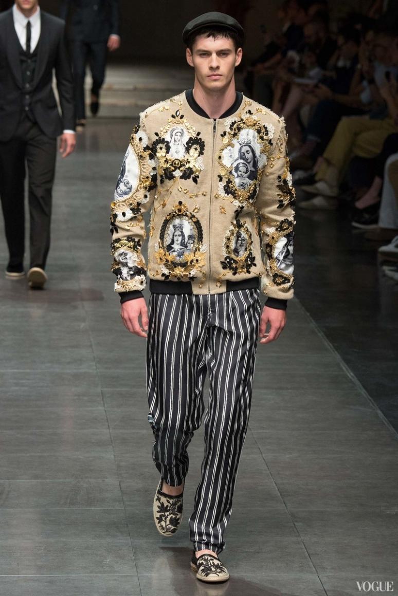 Dolce & Gabbana Menswear весна-лето 2016 #67
