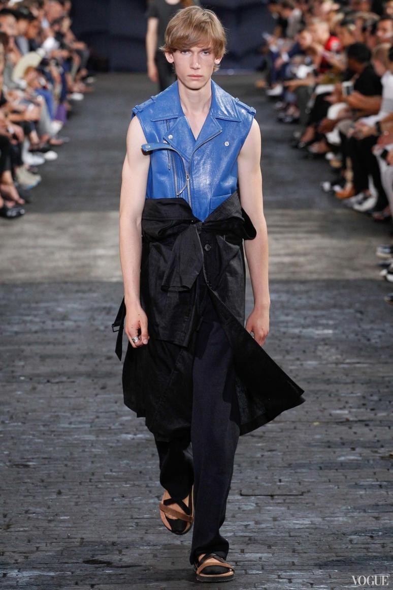 Maison Martin Margiela Menswear весна-лето 2016 #9