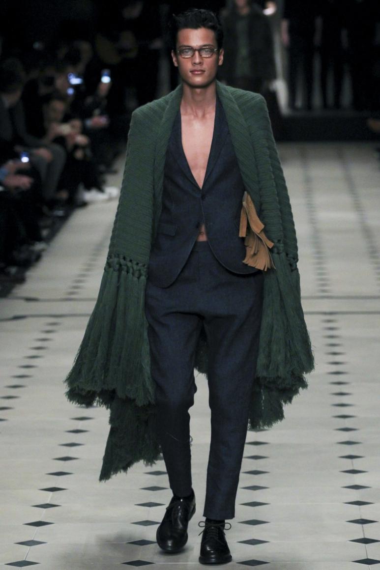 Burberry Prorsum Menswear осень-зима 2015/2016 #49