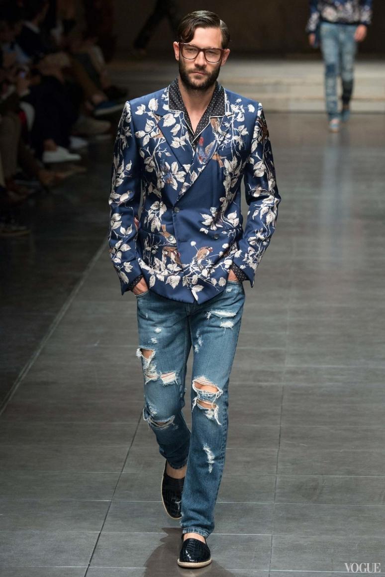 Dolce & Gabbana Menswear весна-лето 2016 #98