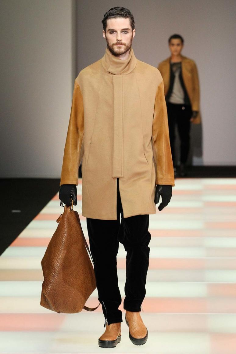 Emporio Armani Menswear осень-зима 2015/2016 #54