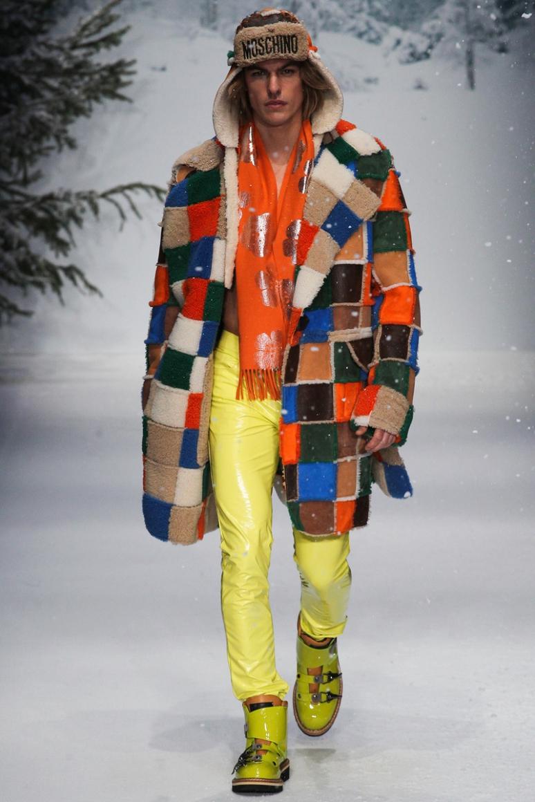 Moschino Menswear осень-зима 2015/2016 #28