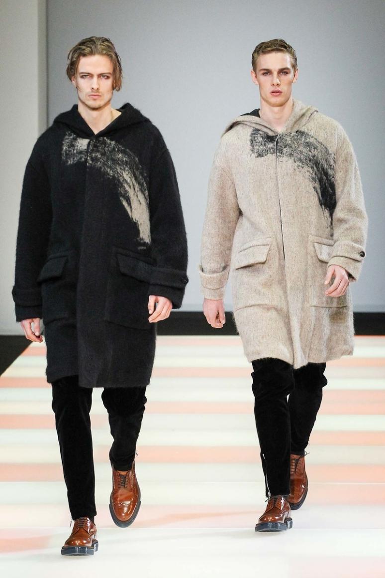 Emporio Armani Menswear осень-зима 2015/2016 #58