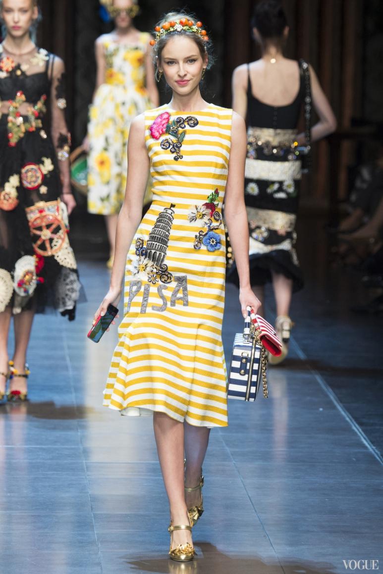 Dolce & Gabbana весна-лето 2016 #80