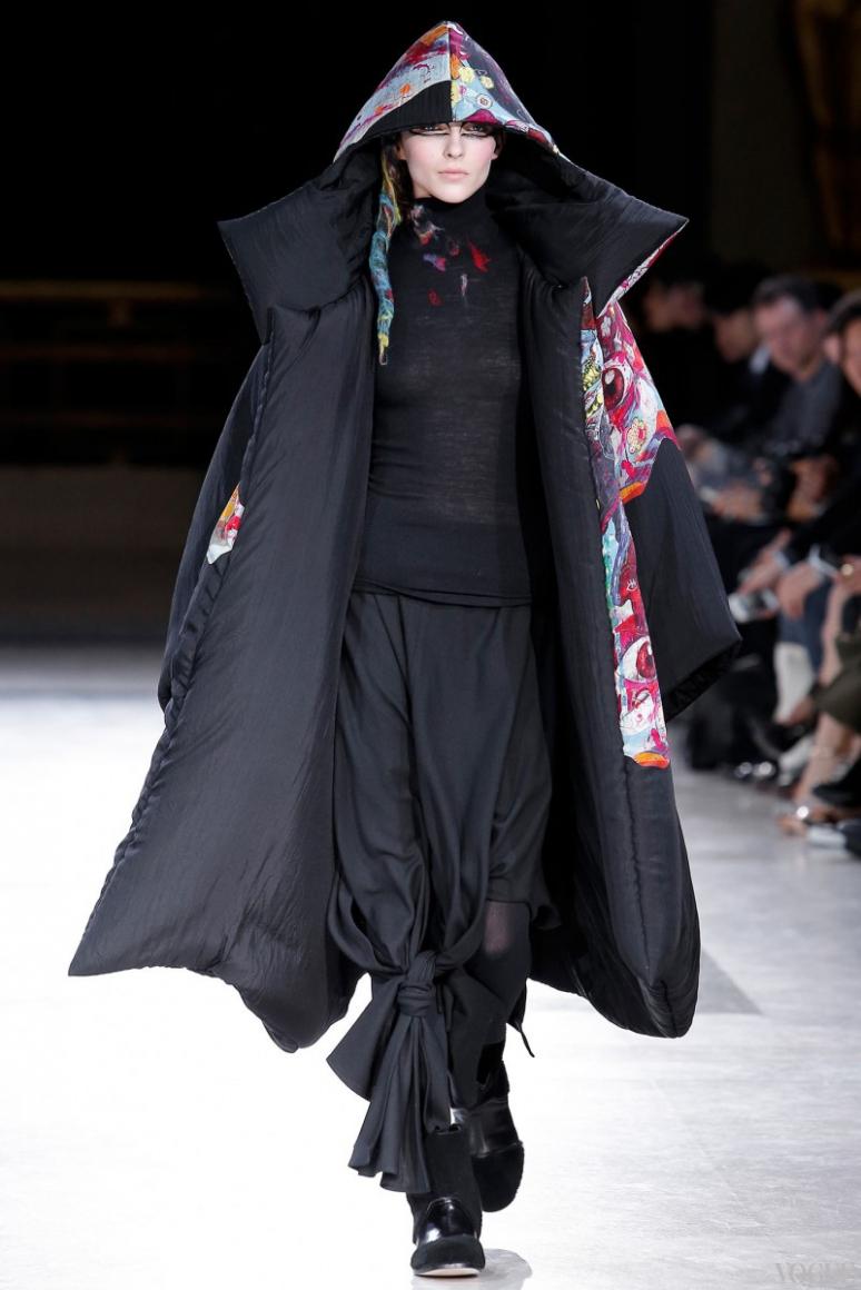 Yohji Yamamoto осень-зима 2014/2015 #37