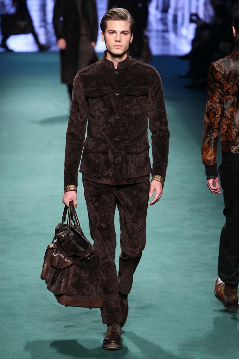 Etro Menswear осень-зима 2015/2016 #50