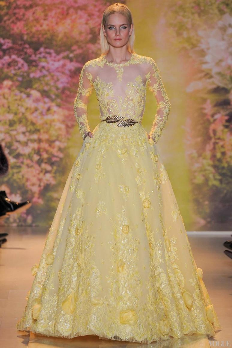 Zuhair Murad Couture весна-лето 2014 #11