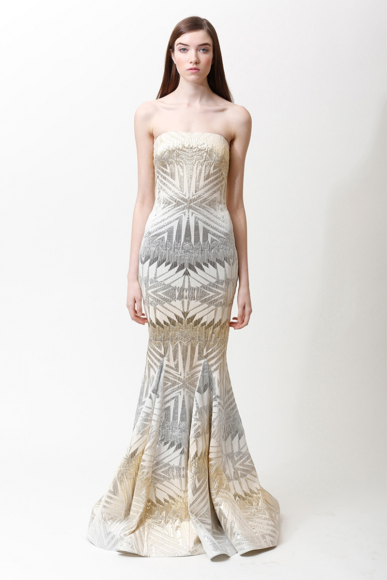 Badgley Mischka Pre-Fall 2013 #15