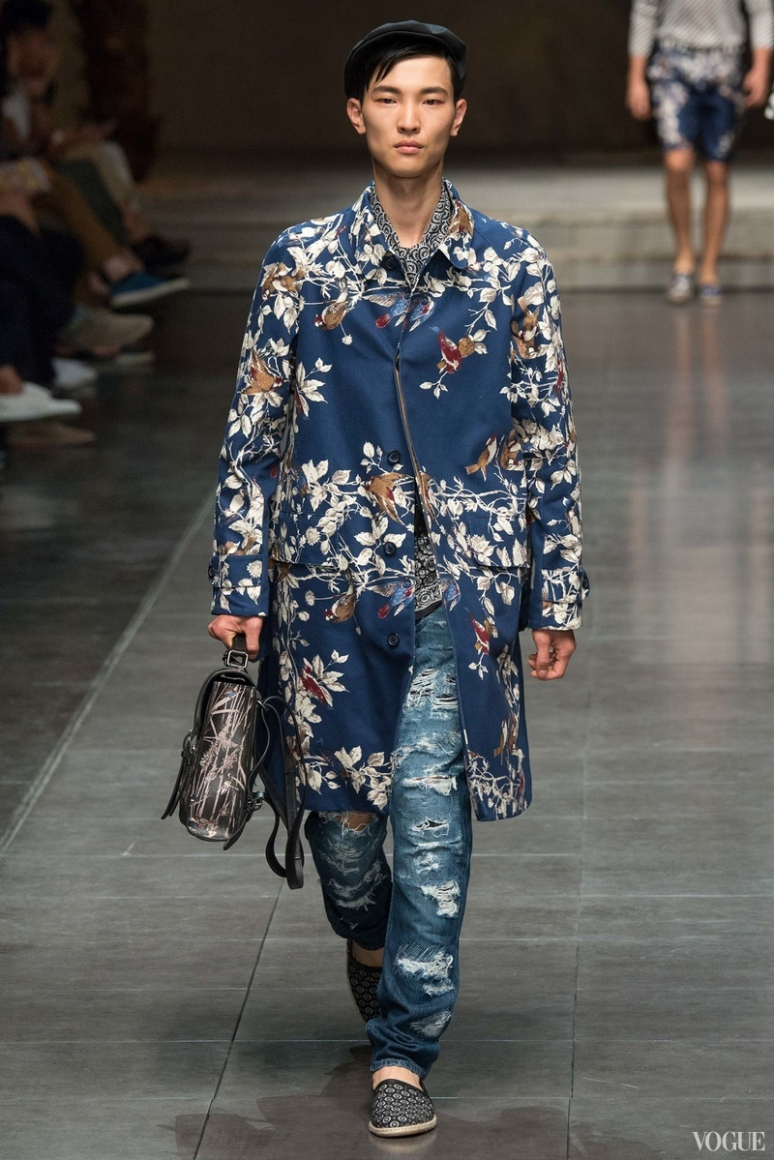 Dolce & Gabbana Menswear весна-лето 2016 #101