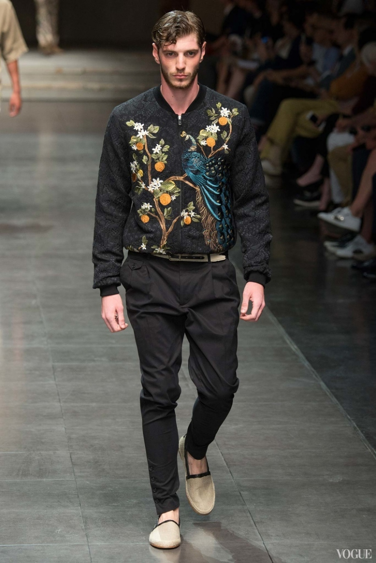 Dolce & Gabbana Menswear весна-лето 2016 #85