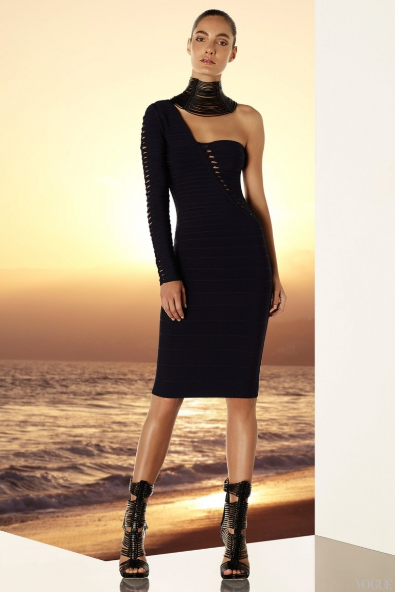 Herve Leger by Max Azria Resort 2015 #27