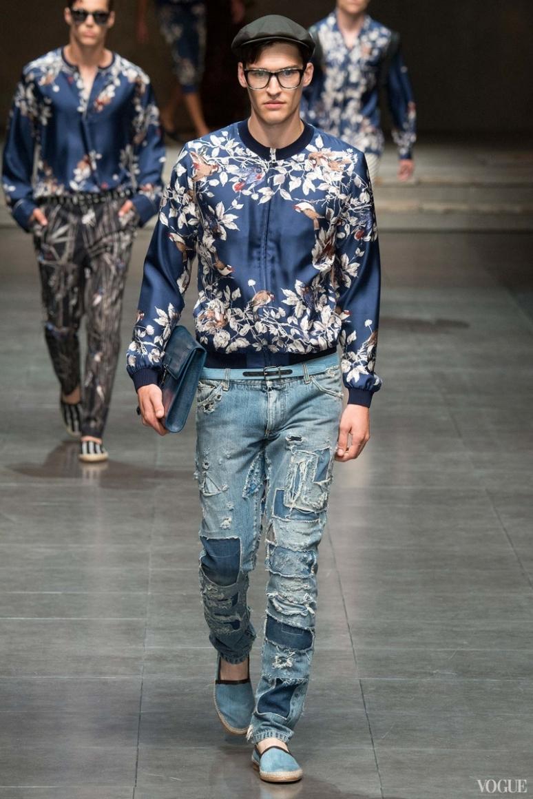 Dolce & Gabbana Menswear весна-лето 2016 #96