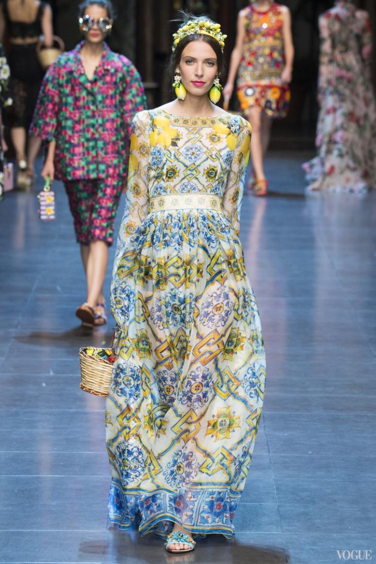 Dolce & Gabbana весна-лето 2016 #58
