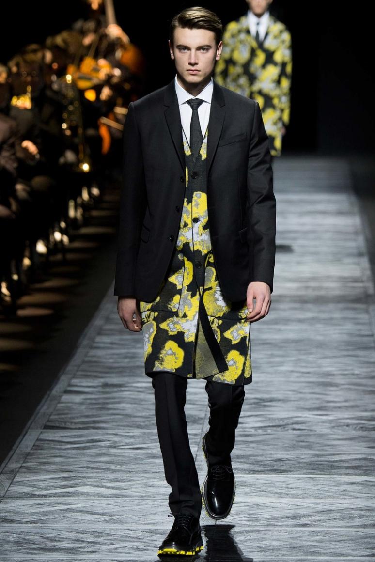 Dior Homme Menswear осень-зима 2015/2016 #6