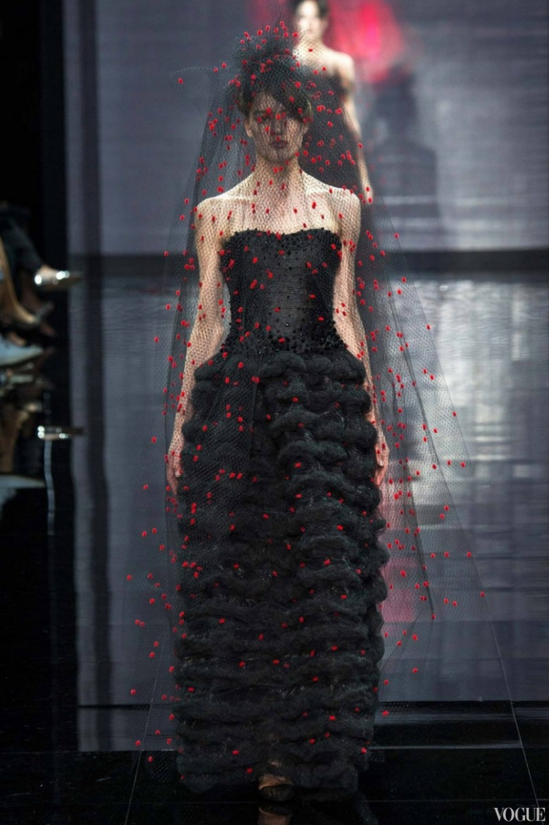 Armani Priv? Couture осень-зима 2014/2015 #15