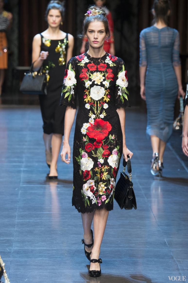 Dolce & Gabbana весна-лето 2016 #71