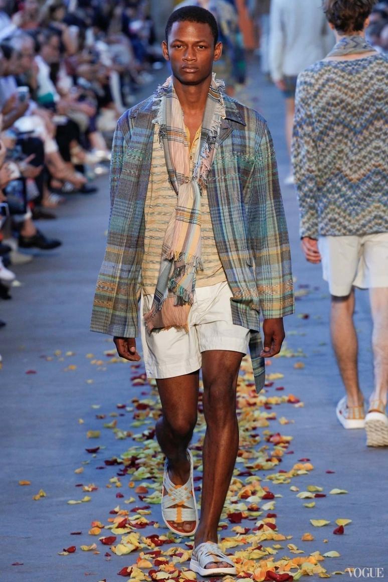 Missoni Menswear весна-лето 2016 #24